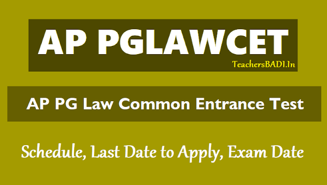 online #ap #pglcet 2019 notification,pg lawcet,schedule,aplwacet.org,apply online,pg law entrance tests,hall tickets,results,online application form fee,online entrance exam date,last date,how to apply