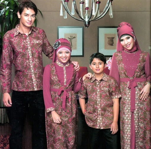 Model Baju Batik Sarimbit Untuk Pakaian Seragam Keluarga: Batik Melayu Khas Batam