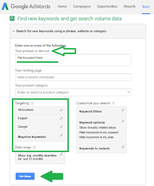 How To Use Google Keyword Planner-3