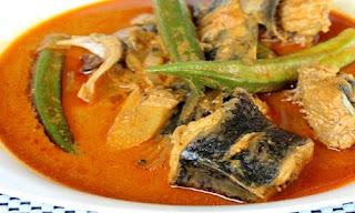 Gulai Ikan Sembilang Asam Pedas Khas Riau