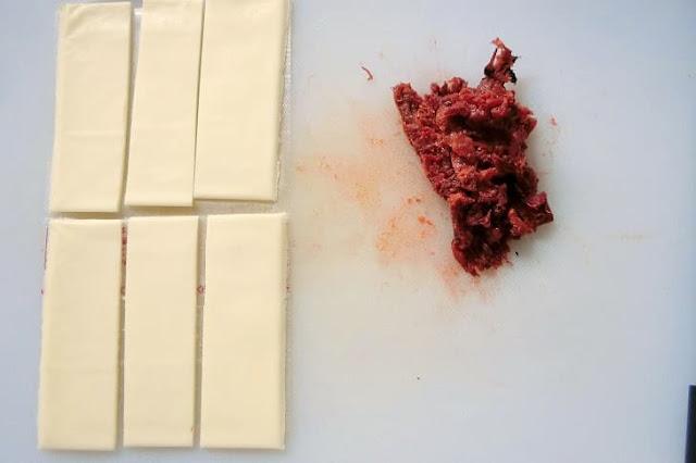 チーズと練り梅