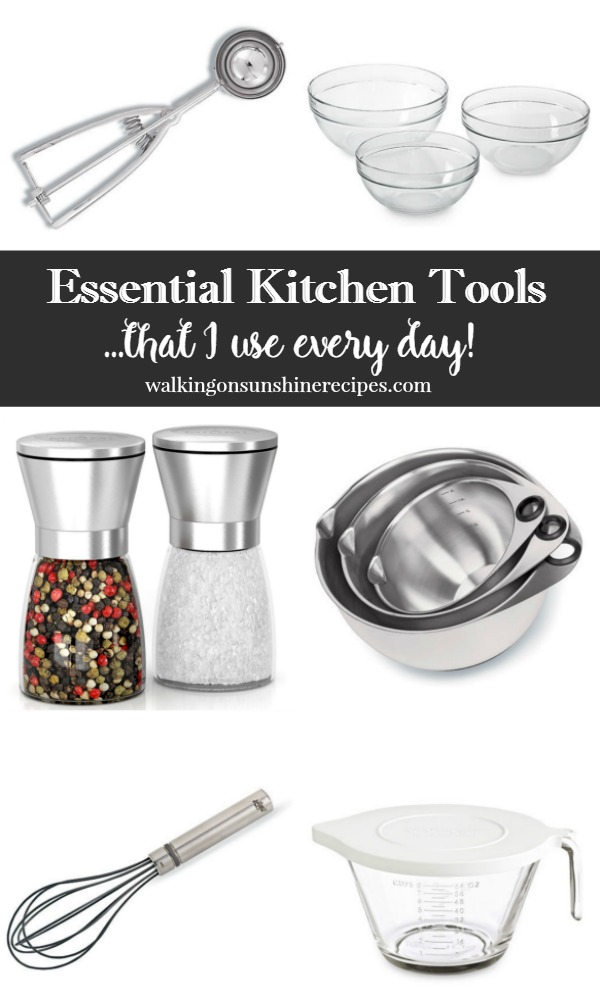 Kitchen Tools List kitchen: my kitchen essentials tool list - walking on sunshine