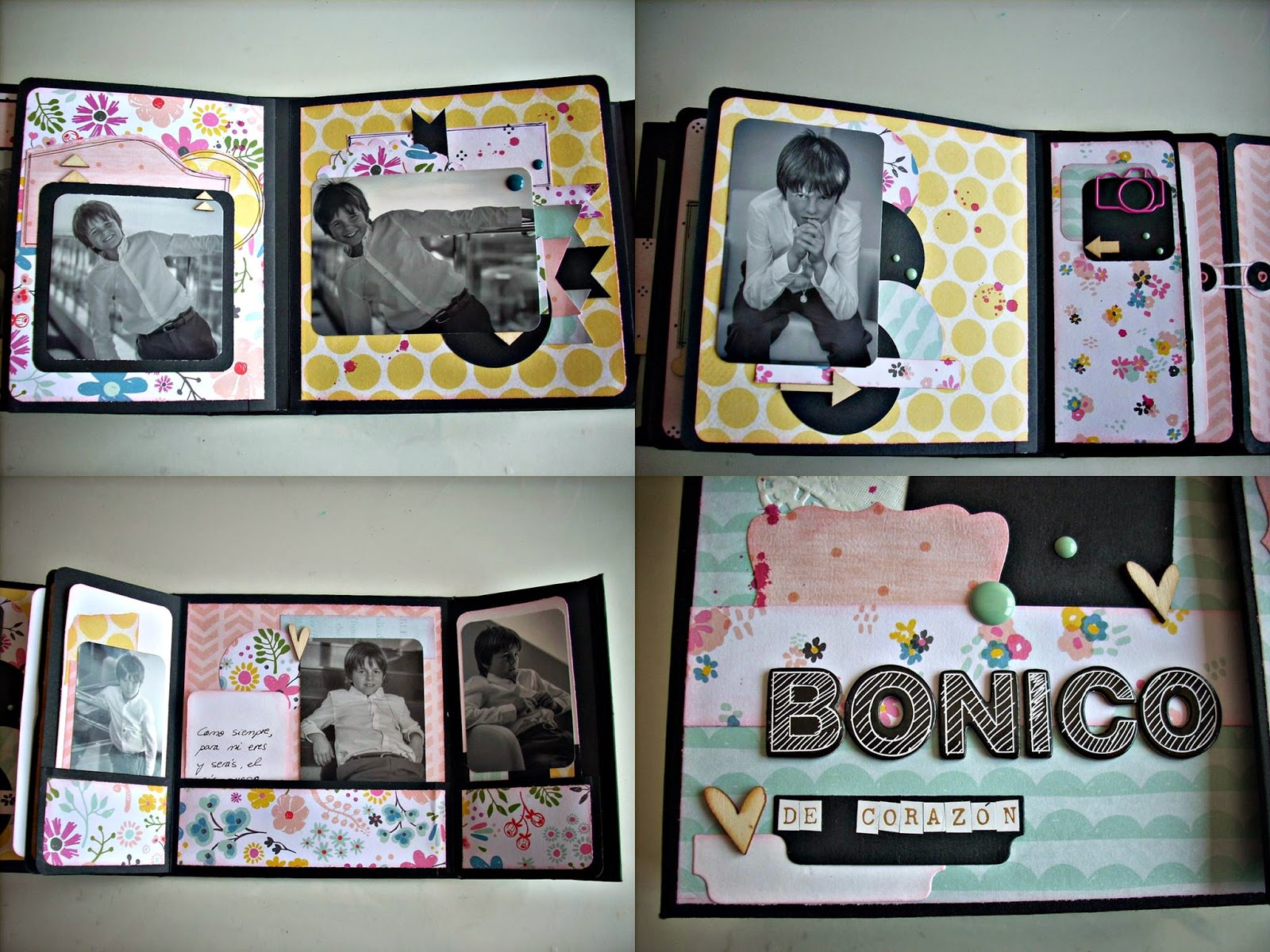 Decorar Album Scrap El Blog De Escrapearte Tutorial Encuadernación De Espina