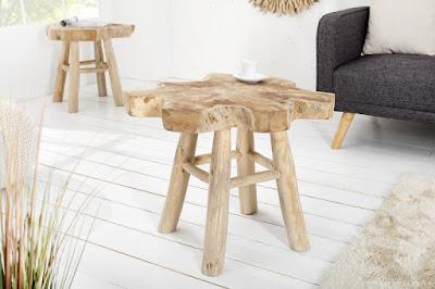 naturalny stolik konferencny, nabytok z dreva reaction.