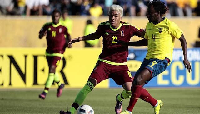 Ecuador vs Venezuela en vivo Amistoso