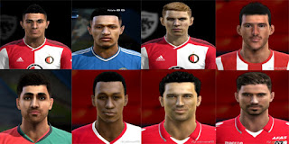 New Facepack Eredivisie  2016 Pes 2013