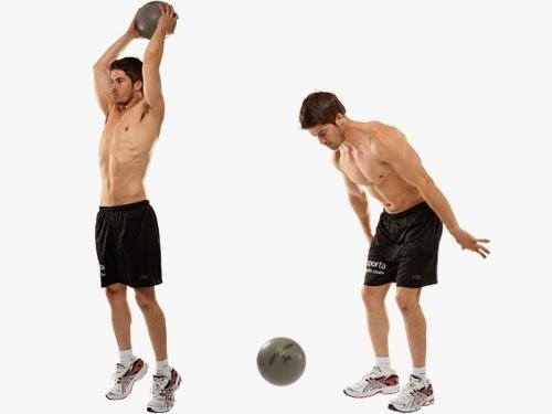 تمارين عضلات البطن فى دقائق