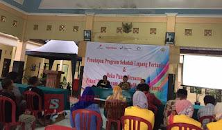 Penutupan Sekolah Lapang LPPM Unigoro Di Blok Cepu, Berharap Mampu Tingkatkan Kesejahteraan Petani
