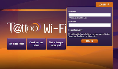 How to Log-in to Globe Tattoo Wifi