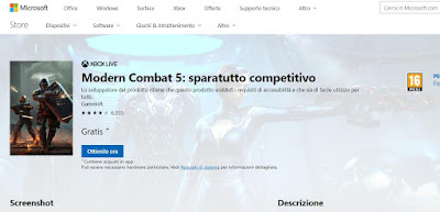 giochi Store windows 10