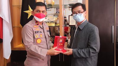Kerjasama di Bidang Pendidikan, Polda Banten Gandeng Universitas Terbuka Serang