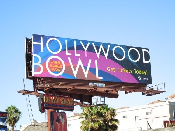 Hollywood Bowl 2013 billboard