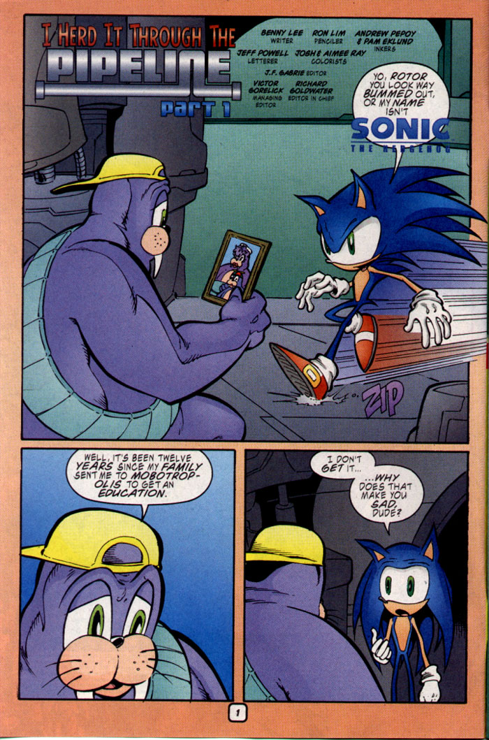 Read online Sonic The Hedgehog comic -  Issue #109 - 3