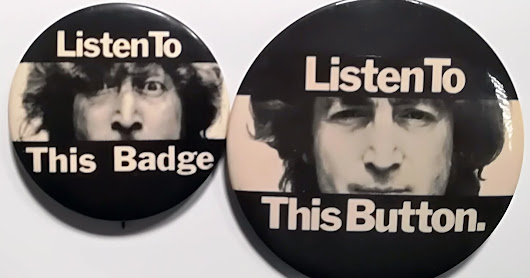 Listen To These Button Badges