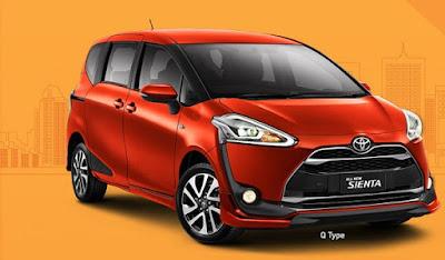 Toyota Sienta Baru Surabaya