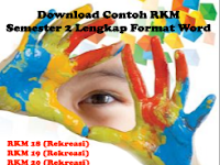 Download Contoh RKM Semester 2 Lengkap Format Word