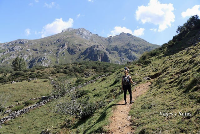 Ruta al Lago del Valle, Somiedo