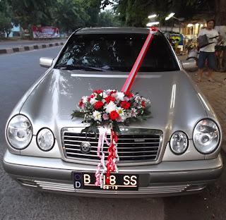 Toko Bunga Karawang - Rias Mobil Pengantin