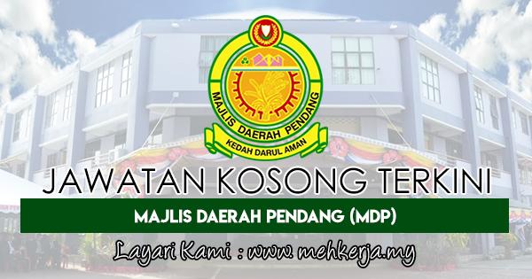 Jawatan Kosong Terkini 2018 di Majlis Daerah Pendang (MDP)