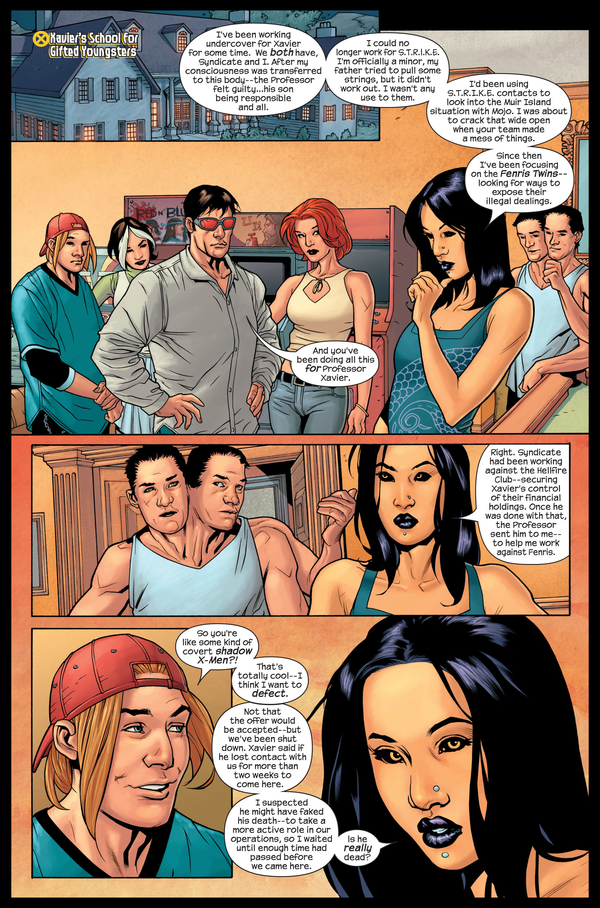 Read online Ultimate X-Men comic -  Issue #84 - 9