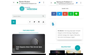 Download Template Blanter Wisdom Seo Ready