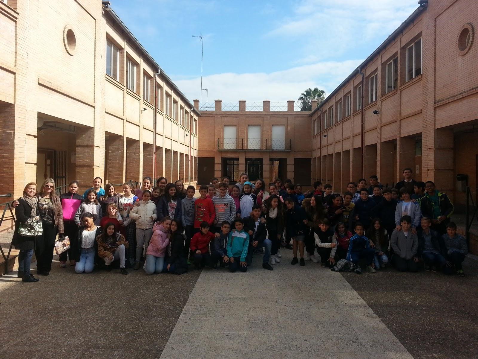 Colegio emilio prados vista al ies ciudad jard n for Instituto ciudad jardin