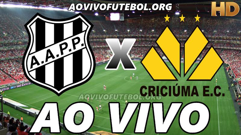 Ponte Preta x Criciúma Ao Vivo Online na TV