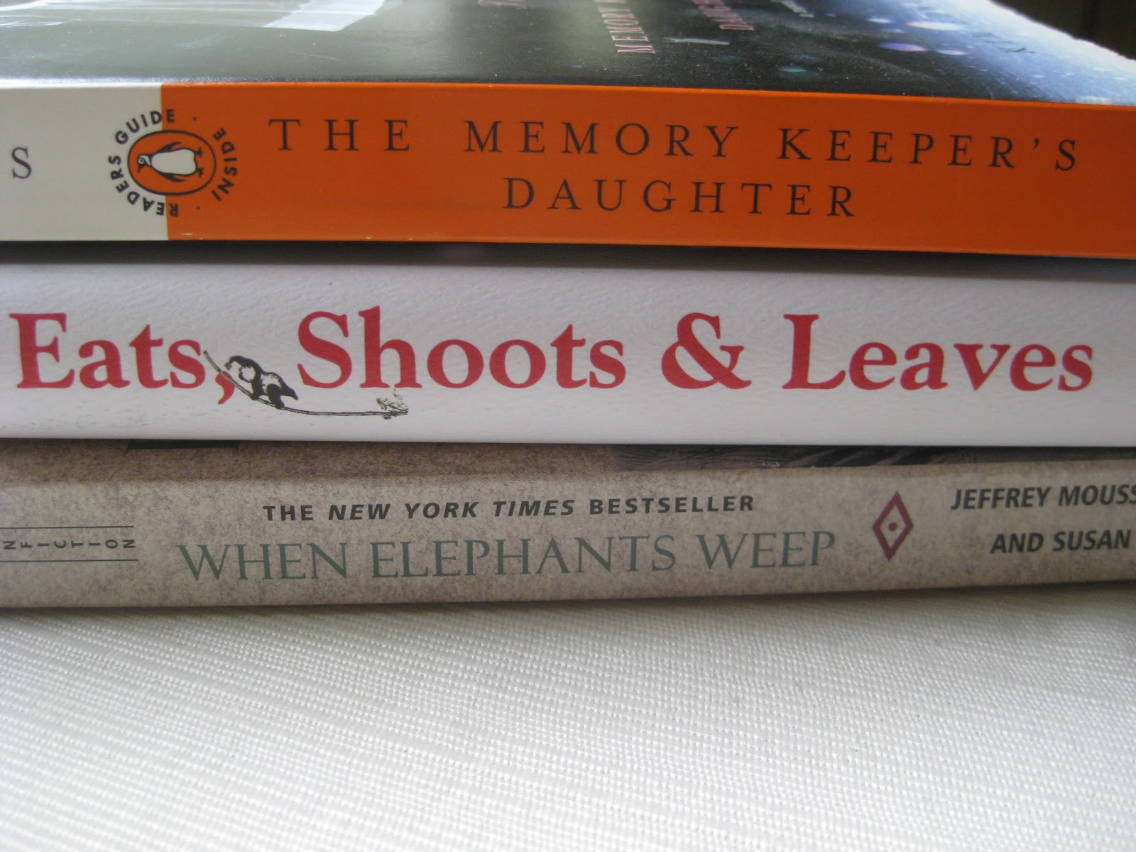 The Memory Keeper S Daughter Quotes: Almost A Baby Boomer: Spine Poetry