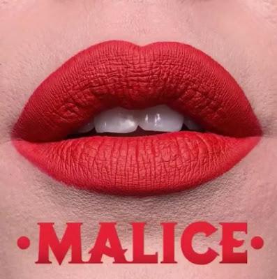 kat von d Everlasting Liquid Lipstick lip swatch malice