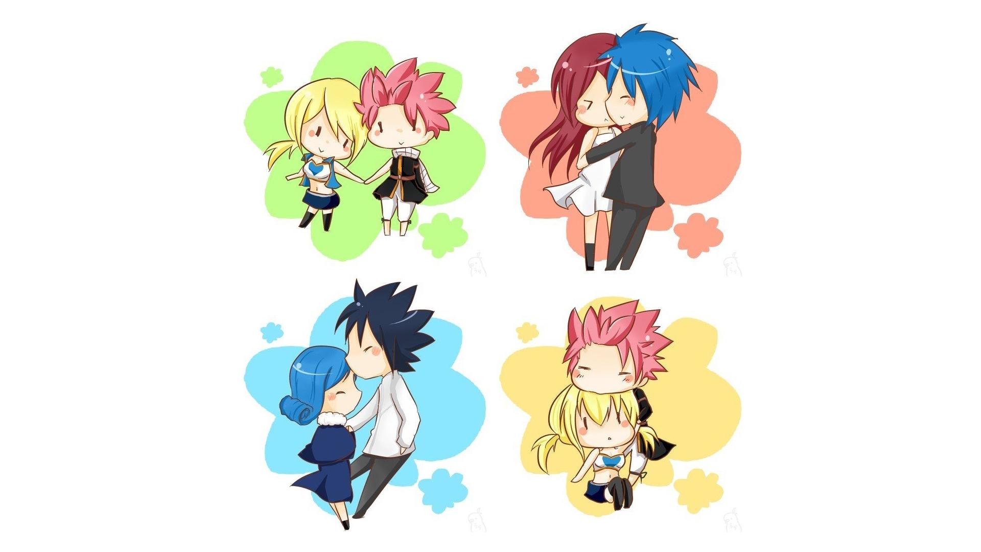 Anime Chibi Fairy Tail 02 Hd Wallpaper