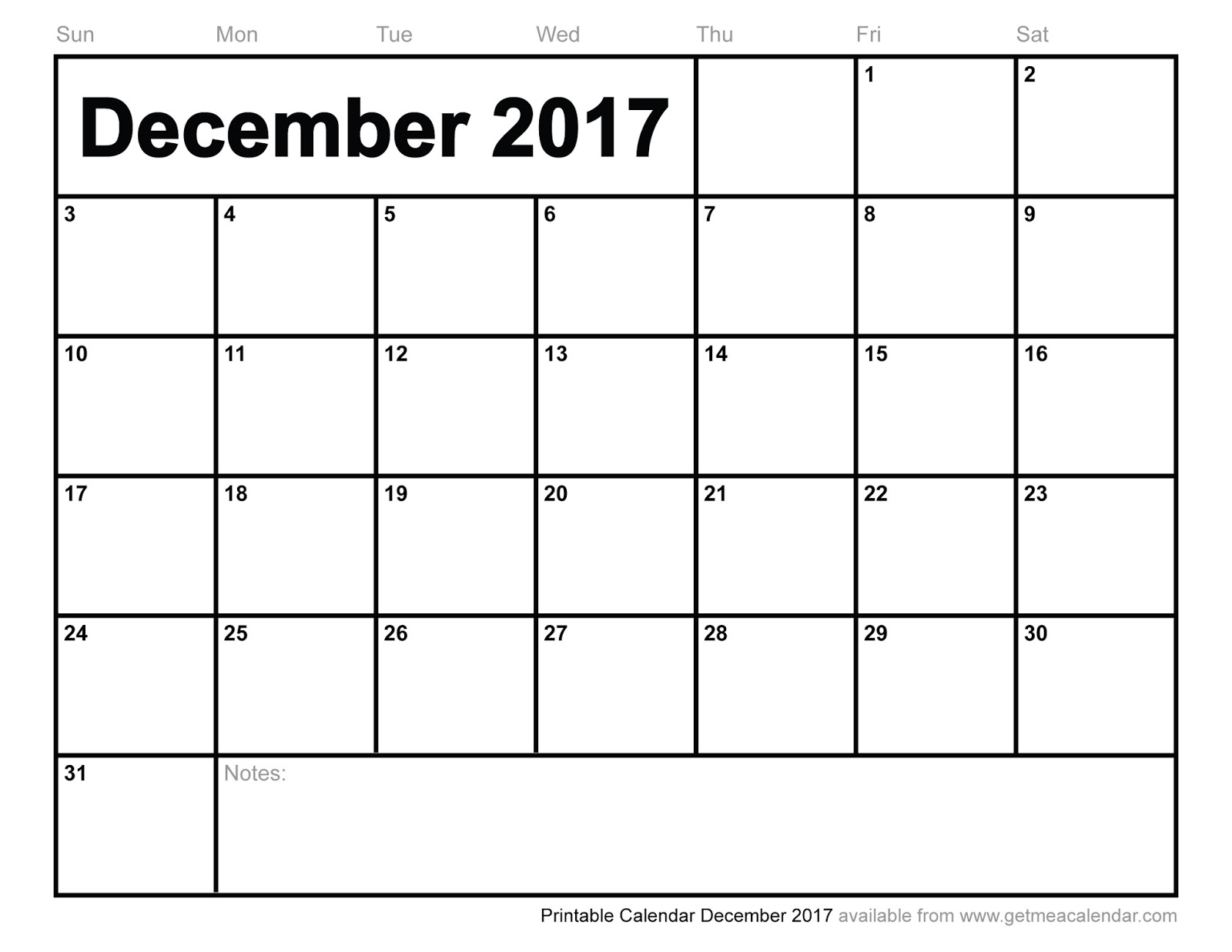 printable december calendars