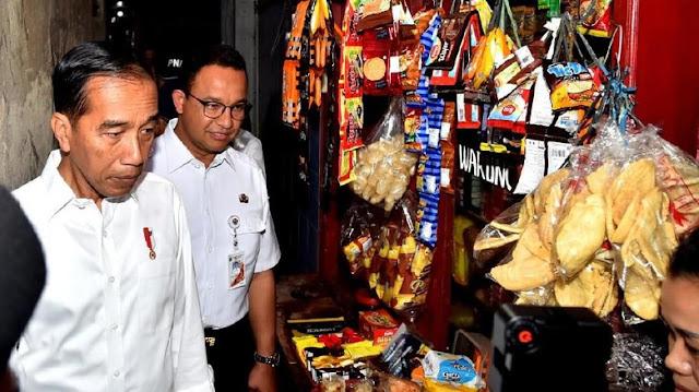 Jokowi Tegaskan Hubungan Manis dengan Anies