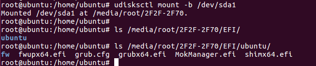 Ah Lam's Note: Recovery Ubuntu boot entry in UEFI after