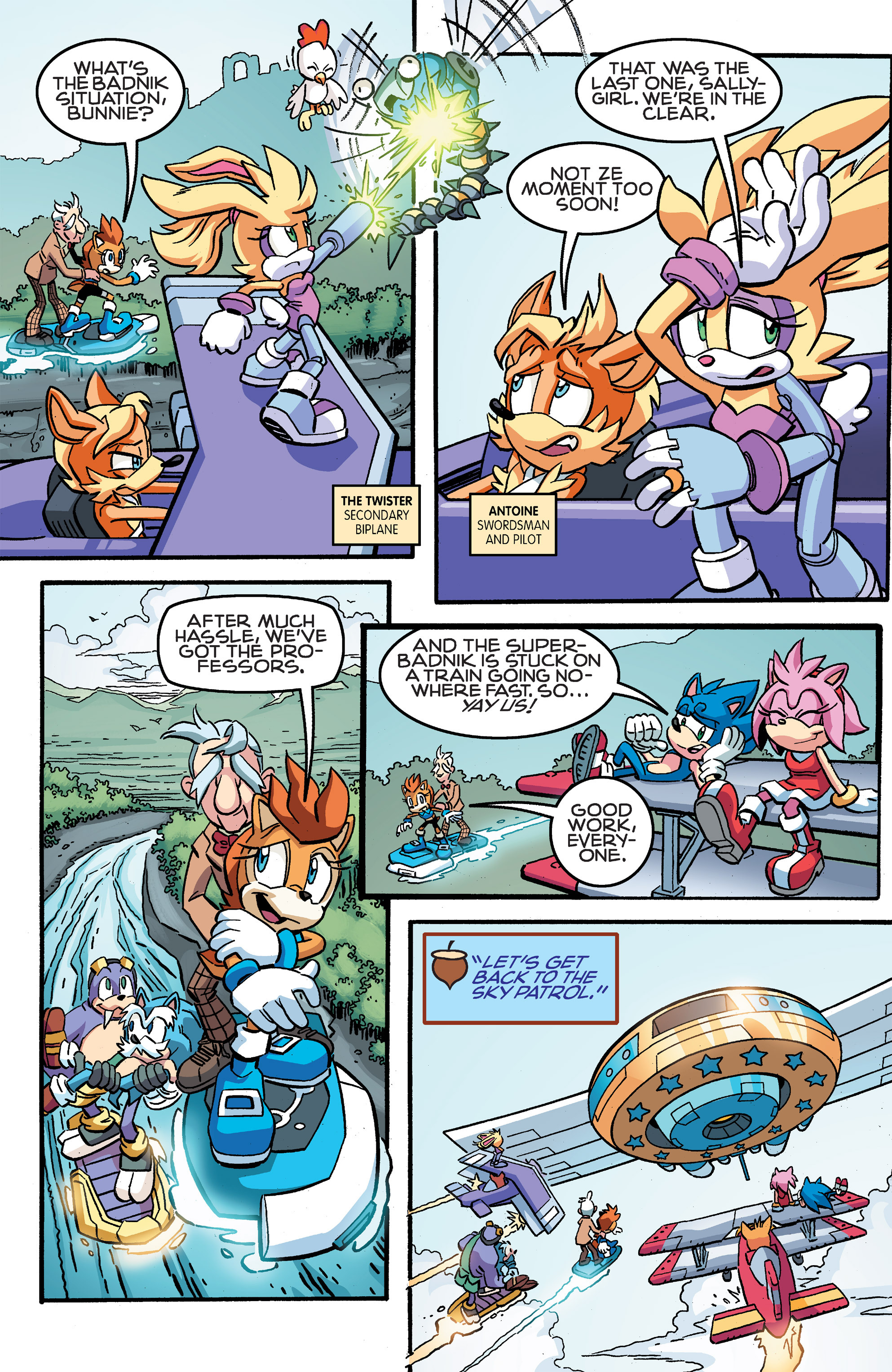 Read online Sonic The Hedgehog comic -  Issue #259 - 13