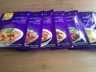 Indiase currypasta's