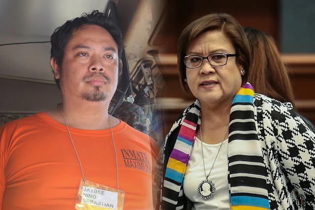 De Lima admits entering Jaybee's kubol… but not alone and just a 'quickie'
