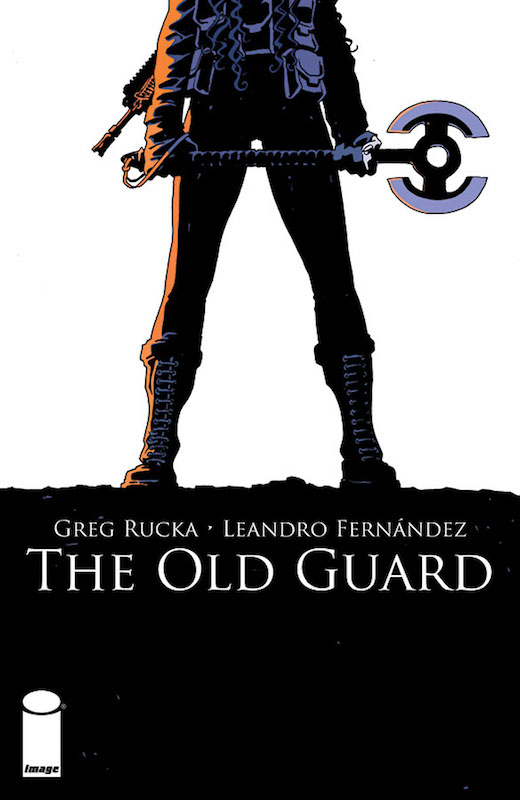 The Old Guard #1, By Greg Rucka Art: Leandro Fernández Colors: Daniela Miwa Letters: Jodi Wynne.