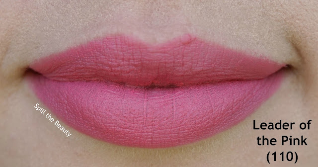 rimmel the only 1 matte lipstick review swatches 110 - leader of the pink