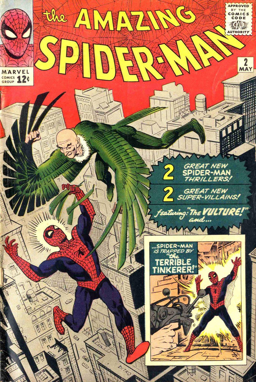 Silver Age Comics Amazing Spiderman 2 Get A Job