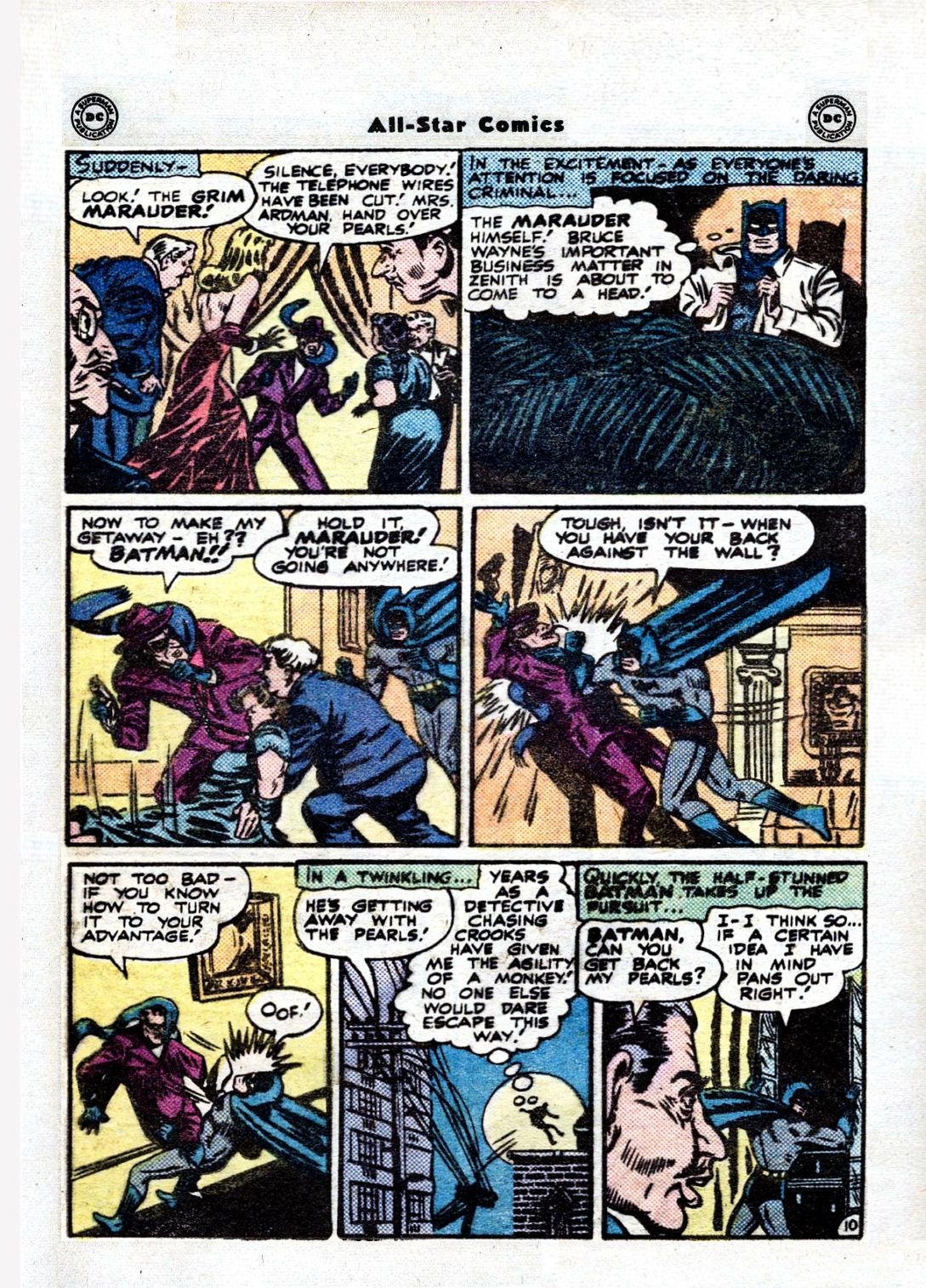 Read online All-Star Comics comic -  Issue #36 - 12