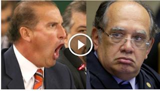 Deputado 'enquadra' Gilmar Mendes após ele dizer que '10 medidas contra corrupção' são coisa de 'cretino'; veja vídeo