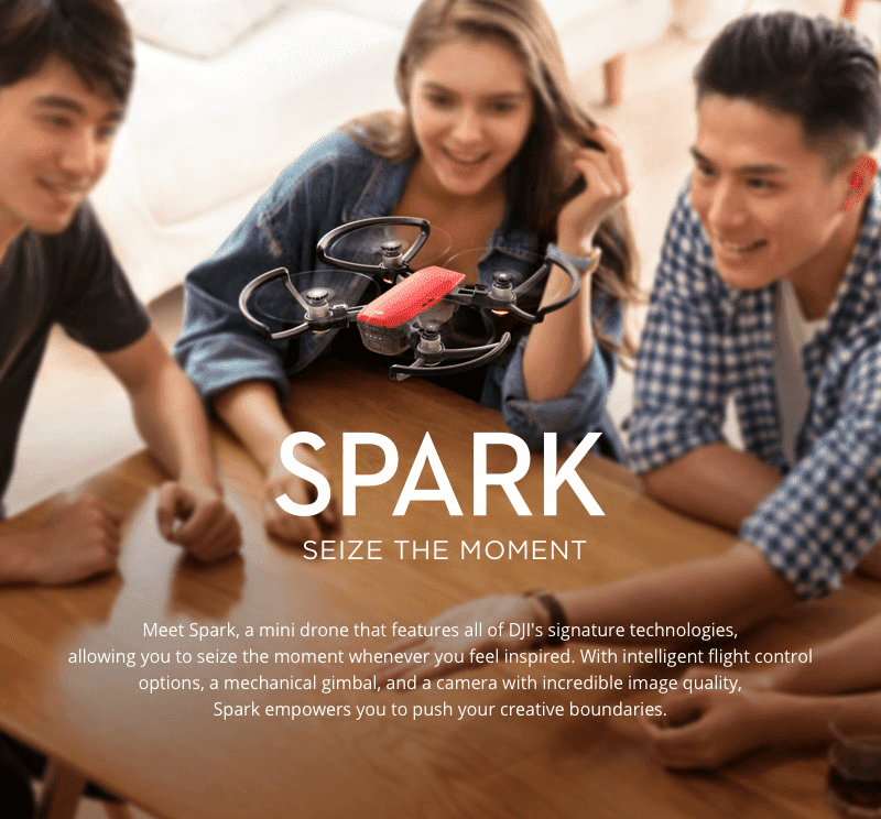 DJI Unveils Spark, The Company's Tiniest And Most Affordable Drone Yet