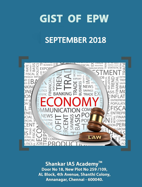 Gist of EPW September 2018