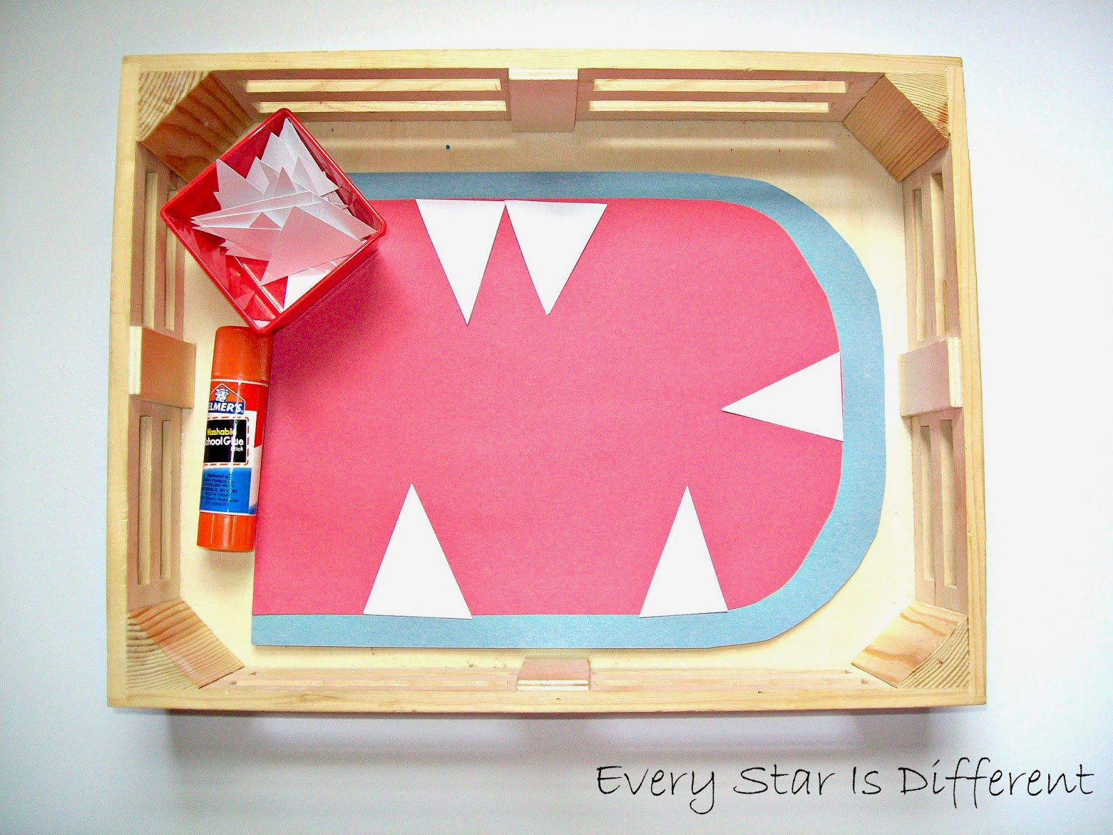 Shark Activities For Tots With Free Printables