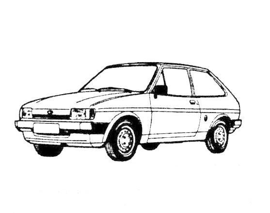 JesCarClassic: FORD FIESTA MK2 1983-1989