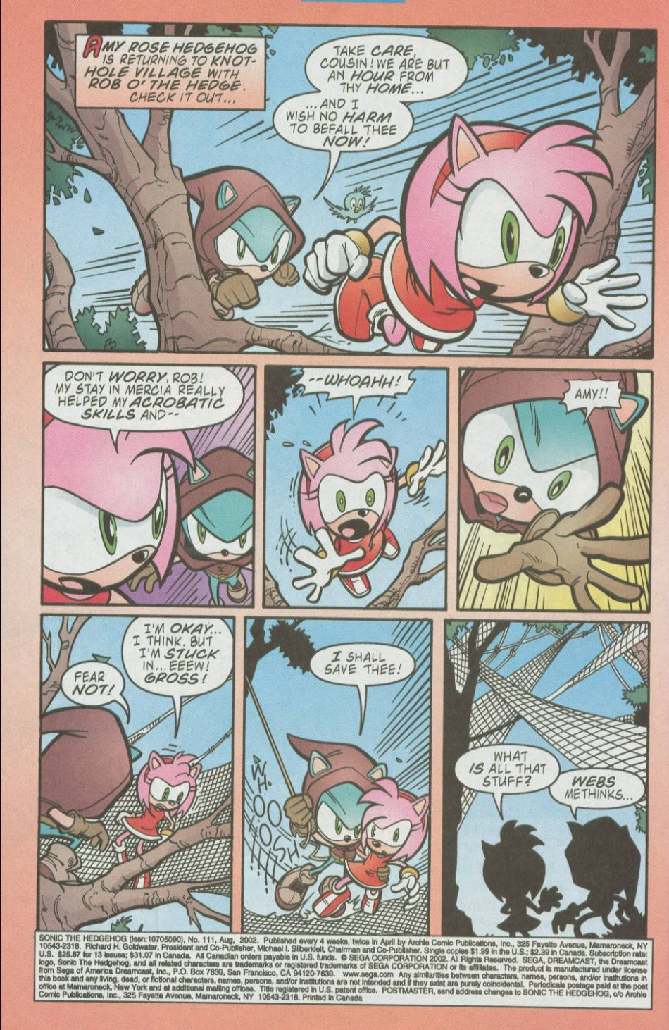 Read online Sonic The Hedgehog comic -  Issue #111 - 3