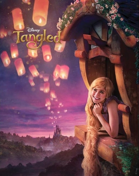 Sarah Geronimo as Rapunzel in Disney's Tangled
