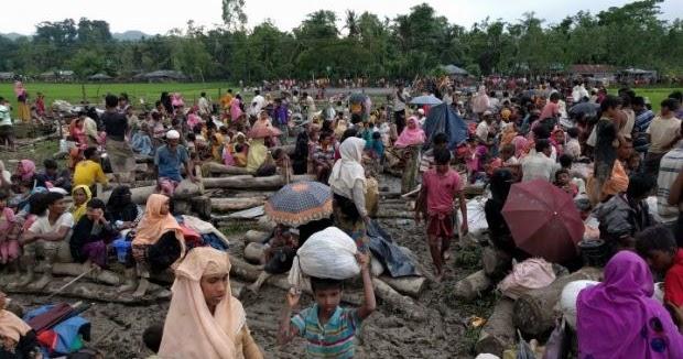 Pengungsi Rohingya Sulit Kembali ke Kampungnya