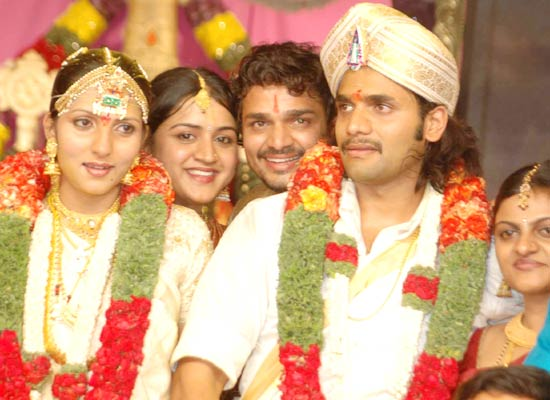 Vijay Raghavendra in  Sriimurali's wedding