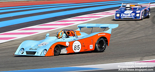 Gulf Mirage GR7-Ford Cosworth DFV